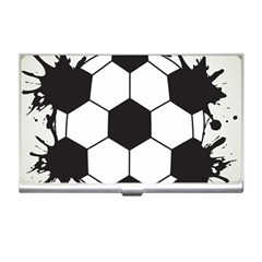 Soccer Camp Splat Ball Sport Business Card Holders by Mariart