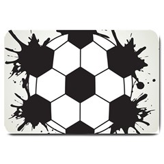 Soccer Camp Splat Ball Sport Large Doormat  by Mariart