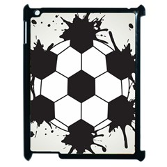 Soccer Camp Splat Ball Sport Apple Ipad 2 Case (black) by Mariart