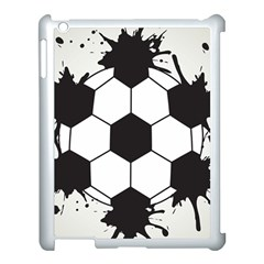 Soccer Camp Splat Ball Sport Apple Ipad 3/4 Case (white) by Mariart
