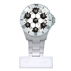 Soccer Camp Splat Ball Sport Plastic Nurses Watch by Mariart