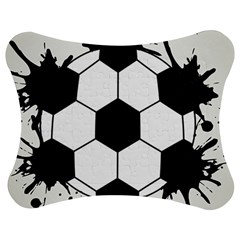 Soccer Camp Splat Ball Sport Jigsaw Puzzle Photo Stand (bow) by Mariart