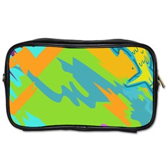 Skatepark Seaworld Fish Toiletries Bags by Mariart