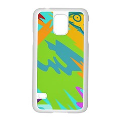 Skatepark Seaworld Fish Samsung Galaxy S5 Case (white) by Mariart