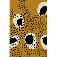 Surface Patterns Spot Polka Dots Black 5 5  X 8 5  Notebooks by Mariart