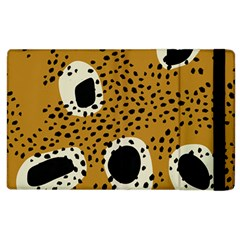 Surface Patterns Spot Polka Dots Black Apple Ipad 3/4 Flip Case by Mariart