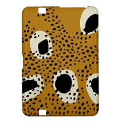 Surface Patterns Spot Polka Dots Black Kindle Fire Hd 8 9  by Mariart