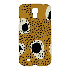 Surface Patterns Spot Polka Dots Black Samsung Galaxy S4 I9500/i9505 Hardshell Case by Mariart
