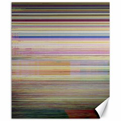 Shadow Faintly Faint Line Included Static Streaks And Blotches Color Canvas 8  X 10  by Mariart