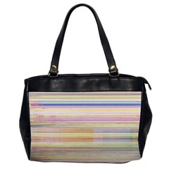 Shadow Faintly Faint Line Included Static Streaks And Blotches Color Office Handbags (2 Sides)  by Mariart