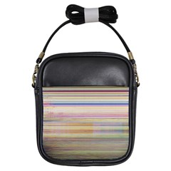 Shadow Faintly Faint Line Included Static Streaks And Blotches Color Girls Sling Bags by Mariart