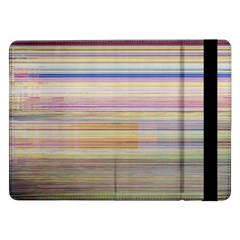 Shadow Faintly Faint Line Included Static Streaks And Blotches Color Samsung Galaxy Tab Pro 12 2  Flip Case by Mariart
