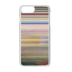 Shadow Faintly Faint Line Included Static Streaks And Blotches Color Apple Iphone 7 Plus White Seamless Case by Mariart