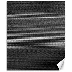 Shadow Faintly Faint Line Included Static Streaks And Blotches Color Gray Canvas 20  X 24   by Mariart