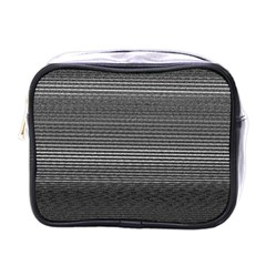 Shadow Faintly Faint Line Included Static Streaks And Blotches Color Gray Mini Toiletries Bags by Mariart