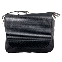 Shadow Faintly Faint Line Included Static Streaks And Blotches Color Gray Messenger Bags by Mariart
