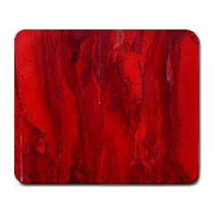 Stone Red Volcano Large Mousepads by Mariart