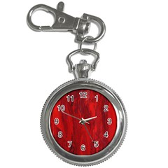 Stone Red Volcano Key Chain Watches by Mariart