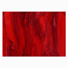 Stone Red Volcano Large Glasses Cloth (2 Side) by Mariart