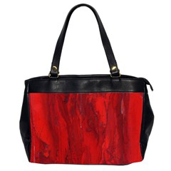 Stone Red Volcano Office Handbags (2 Sides)  by Mariart