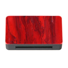 Stone Red Volcano Memory Card Reader With Cf by Mariart