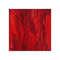 Stone Red Volcano Acrylic Tangram Puzzle (4  X 4 ) by Mariart