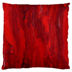 Stone Red Volcano Large Cushion Case (two Sides) by Mariart