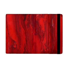 Stone Red Volcano Apple Ipad Mini Flip Case by Mariart