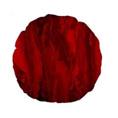 Stone Red Volcano Standard 15  Premium Round Cushions by Mariart