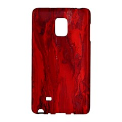 Stone Red Volcano Galaxy Note Edge by Mariart