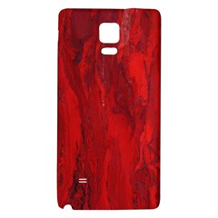 Stone Red Volcano Galaxy Note 4 Back Case by Mariart