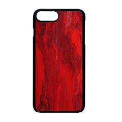 Stone Red Volcano Apple Iphone 7 Plus Seamless Case (black) by Mariart
