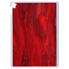 Stone Red Volcano Apple iPad Pro 9.7   White Seamless Case
