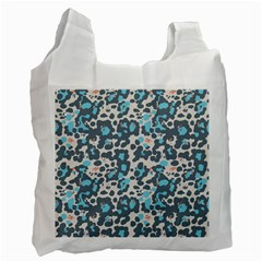Sunbathing Beach Sea Recycle Bag (two Side)  by Mariart
