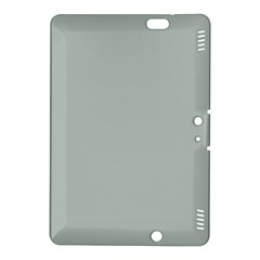 Ash Gray Solid Color  Kindle Fire Hdx 8 9  Hardshell Case by SimplyColor