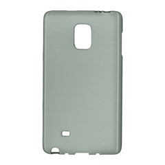 Ash Gray Solid Color  Galaxy Note Edge by SimplyColor