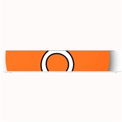 Taurus Symbol Sign Orange Small Bar Mats by Mariart