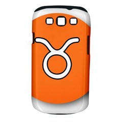 Taurus Symbol Sign Orange Samsung Galaxy S Iii Classic Hardshell Case (pc+silicone) by Mariart