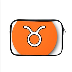Taurus Symbol Sign Orange Apple Macbook Pro 15  Zipper Case by Mariart