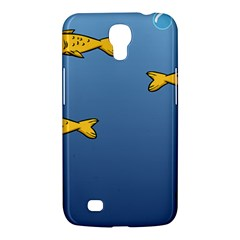Water Bubbles Fish Seaworld Blue Samsung Galaxy Mega 6 3  I9200 Hardshell Case by Mariart