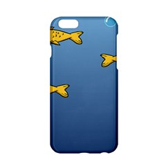 Water Bubbles Fish Seaworld Blue Apple Iphone 6/6s Hardshell Case by Mariart