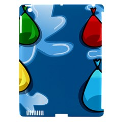 Water Balloon Blue Red Green Yellow Spot Apple Ipad 3/4 Hardshell Case (compatible With Smart Cover) by Mariart