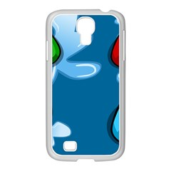 Water Balloon Blue Red Green Yellow Spot Samsung Galaxy S4 I9500/ I9505 Case (white) by Mariart
