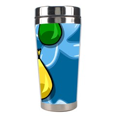 Water Balloon Blue Red Green Yellow Spot Stainless Steel Travel Tumblers by Mariart