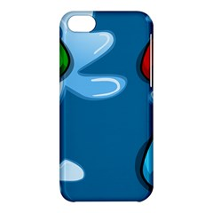 Water Balloon Blue Red Green Yellow Spot Apple Iphone 5c Hardshell Case by Mariart