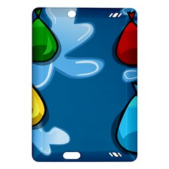 Water Balloon Blue Red Green Yellow Spot Amazon Kindle Fire Hd (2013) Hardshell Case by Mariart