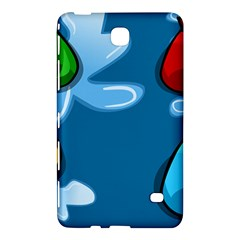 Water Balloon Blue Red Green Yellow Spot Samsung Galaxy Tab 4 (7 ) Hardshell Case  by Mariart