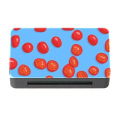 Tomatoes Fruite Slice Red Memory Card Reader With Cf by Mariart