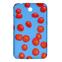 Tomatoes Fruite Slice Red Samsung Galaxy Tab 3 (7 ) P3200 Hardshell Case  by Mariart