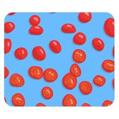 Tomatoes Fruite Slice Red Double Sided Flano Blanket (small)  by Mariart